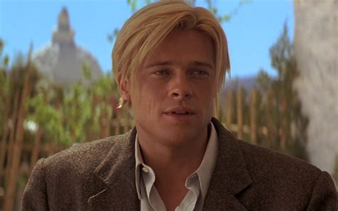 brad pitts haircut in seven the 25 most iconic hairstyles rocked by brad pitt over the