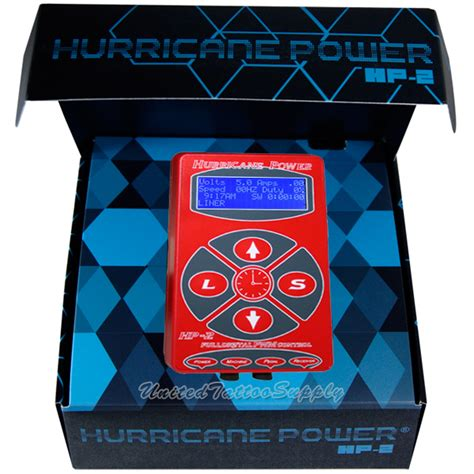 united tattoo supply hurricane 174 digital machine power