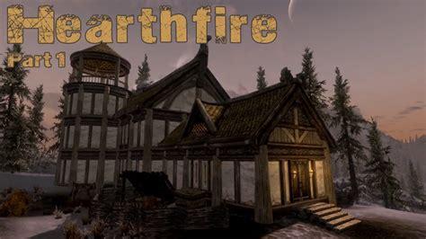 Skyrim Hearthfire DLC   Dawnstar Build Part 1   YouTube