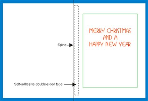 card a4 template free greetings card insert template to