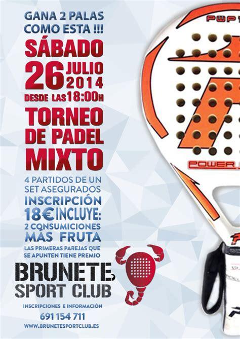 Dejar Un Comentario Cancelar Respuesta | torneo mixto 26 julio 2014 brunete sport club