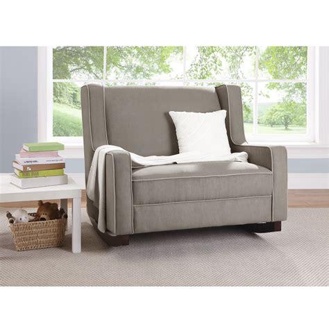 double rocker recliner chair dorel asia baby relax hadley double rocker dark taupe