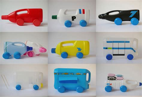 como hacer manualidades con cosas resiclable imagen juguetes para ni 241 os hechos con botellas recicladas