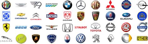 makes of cars car logos decals stickers and much more with design