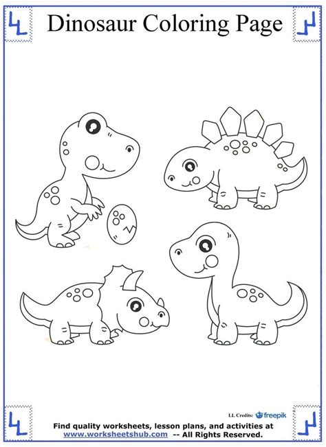d dinosaur coloring page pictures of dinosaurs to color printable dinosaur coloring
