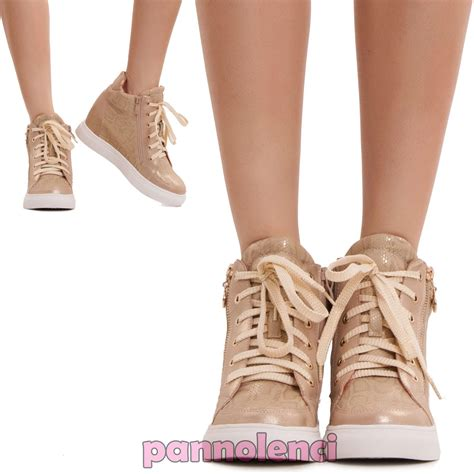 scarpe ginnastica zeppa interna scarpe donna ginnastica sneakers sportive zeppa interna 7