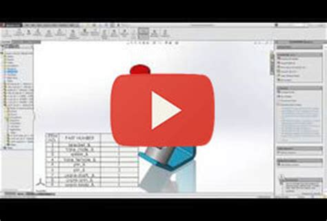 solidworks tutorial indent solidworks bom top level only parts only and indented