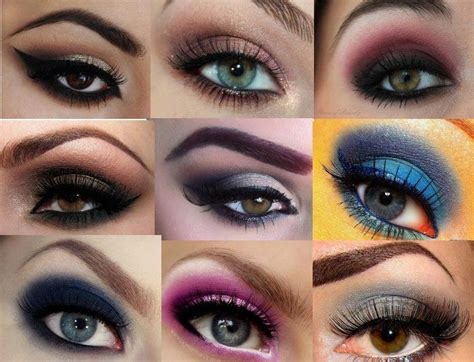 eyeliner tutorial for different eye shapes different shapes in eye makeup 6 eye makeup for