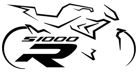 Bmw S1000r Original Aufkleber by Www Timos Plottshop De Bmw S1000r Silhouette Mit Logo 2