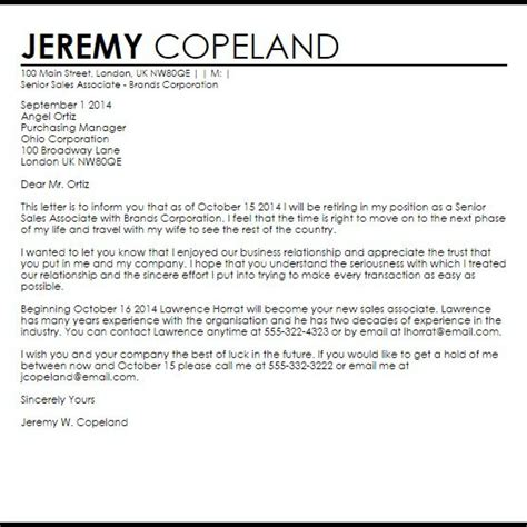 retirement letter template to employer proper sles of retirement letters letter format writing