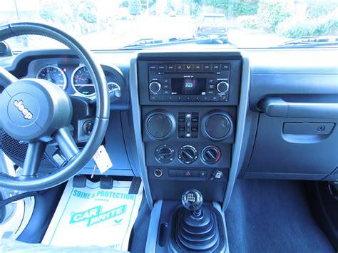 2007 Jeep Wrangler X Interior by 2007 Jeep Wrangler Interior Pictures Cargurus