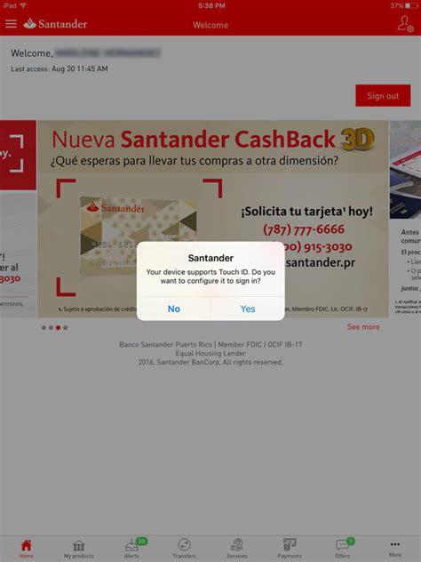 banco santander puerto rico santander pr apprecs