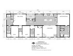 deer valley mobile home floor plans woodland homes deer valley homebuilders
