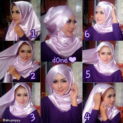 tutorial hijab syar i lebaran 1000 images about hijab terbaru fashion dan aksesoris on