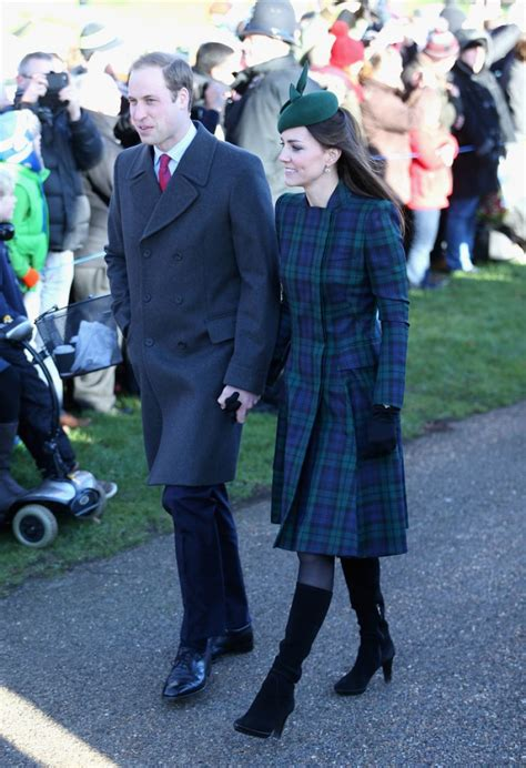 kate middleton christmas day service at sandringham