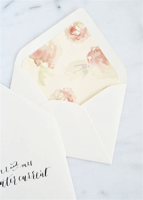 17 best ideas about diy wedding envelope liners on