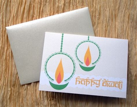 Diwali Handmade Cards - diwali greeting card ideas family net