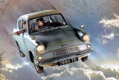 la volante la voiture volante harry potter