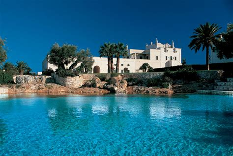 hotel con piscina in hotel 5 stelle con piscina in puglia masseria san domenico