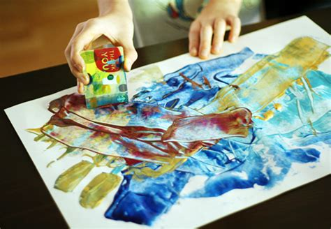 unique paint 7 unique painting tools for kids make and takes