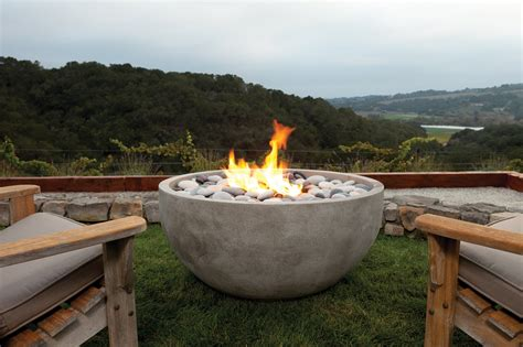 Outdoor Gas Pit Bowls The Infinite Artisan Bowl