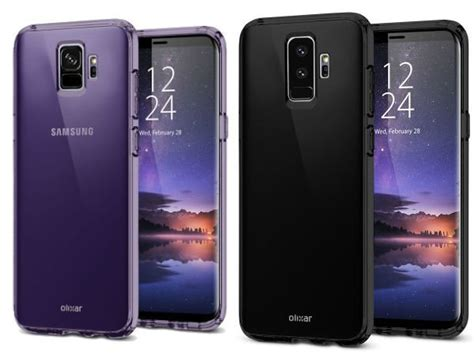 9 Samsung Cases Possible Samsung Galaxy S9 And S9 Design Revealed By Renders Gizbot News