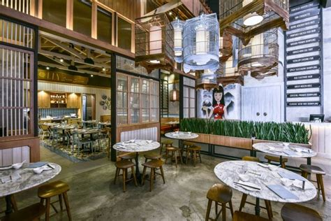 design cafe traditional dolly dimsum chinese restaurant by metaphor interior