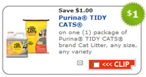 Printable Coupons For Cat Food And Litter | target deal tidy cat litter only 77 cents common sense
