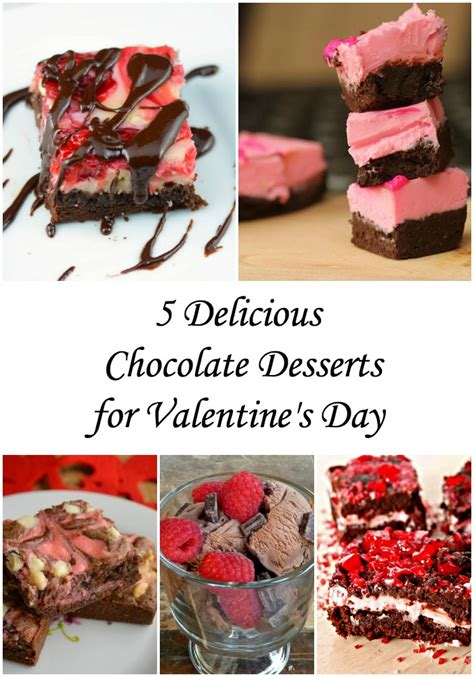 chocolate desserts for day chocolate dessert recipes for s day
