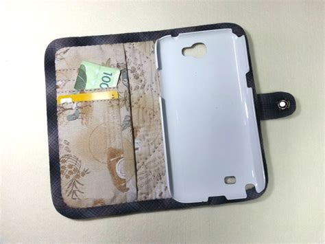 how to make a mobile cover with cloth cell phone wallet diy tutorial ideas