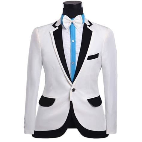 Design White Jacket | brand mens prom tuxedo suits with pants 2016 fashion