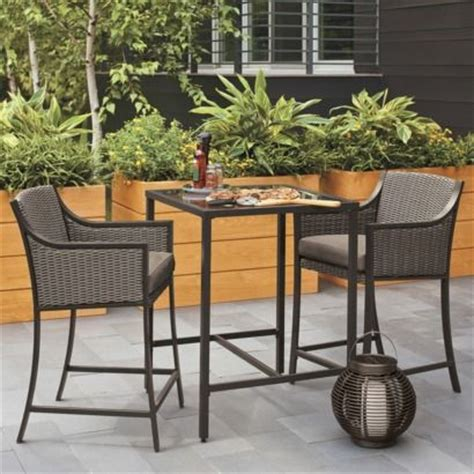 bar height bistro patio set discover and save creative ideas