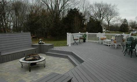 15 Ideas for Gray Wooden Decks   Home Design Lover