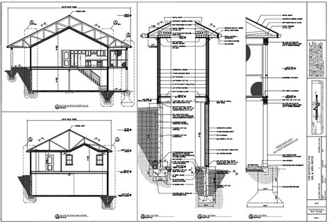 construction plan for house km house plans