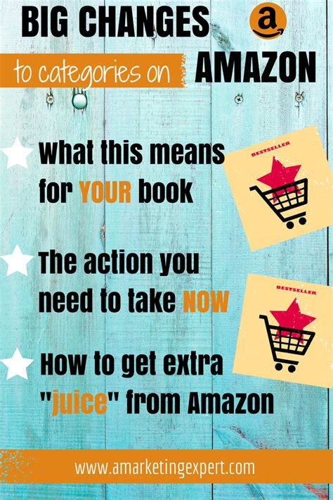 book categories on amazon writers big changes for amazon categories author marketing