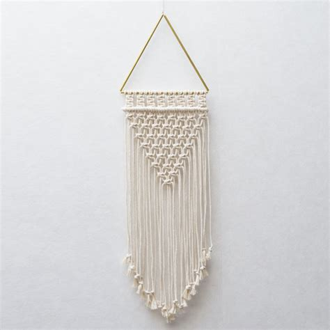 100pcs creative new golden picture hangers brass triangle photo triangle macrame wall hanging macrame brass gold metal
