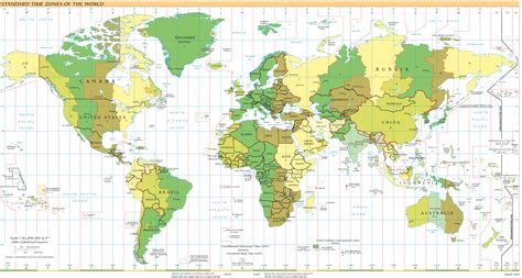 map international international time zones