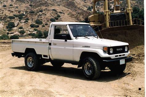 land cruiser 70 pickup imcdb org 1990 toyota land cruiser j70 in quot the