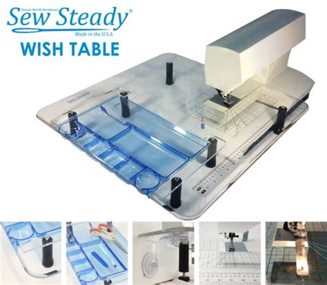 sewing machine extension table sew steady sst wish portable sewing machine extension