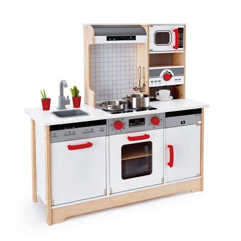 un jeux de cuisine cuisine tout en un en bois hape cuisine oxybul 233 veil et