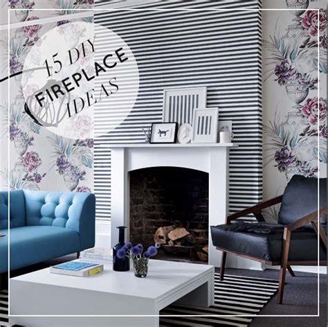 15 beautiful diy ideas for your fireplace design sponge