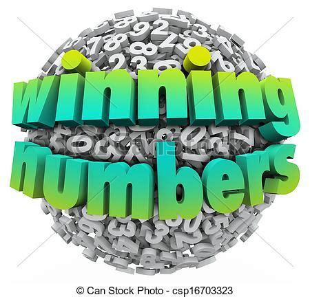 Art Van Sweepstakes - clip art van jackpot bal loterij innemend spel getallen sweepstakes