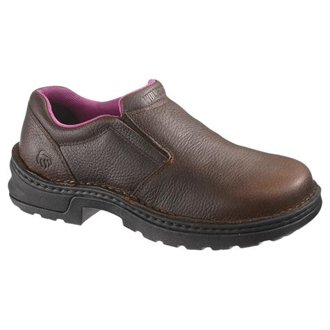 s wolverine 174 bailey steel toe slip on shoes 584193