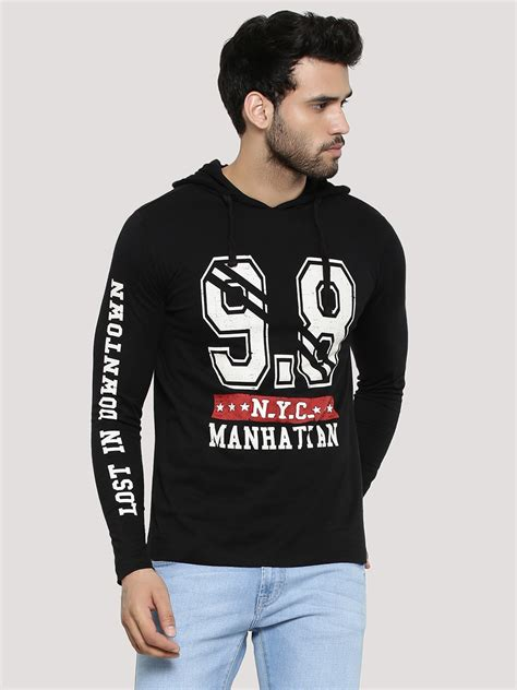 buy antigravity logo hoodie with sleeve print for