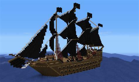 barco pirata minecraft the black star massive pirate ship download