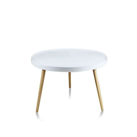 Table Basse Ronde Blanche 3272 by Table Basse De Salon Blanche Ronde Pristina Achat