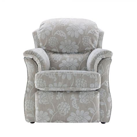 Small Power Recliner by G Plan Florence Small Power Recliner In Grade C Fabrics At