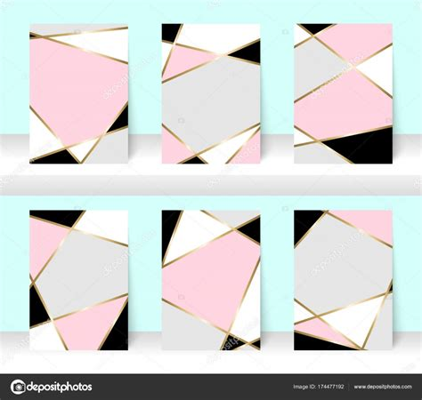 White Gold Abstract Top Size Sml pastel abstract pattern background with golden line for business brochure cover design pink