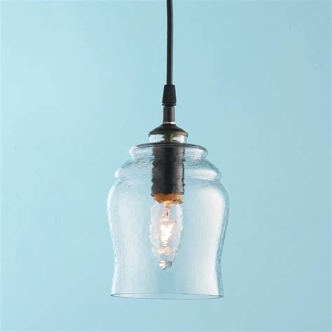 Houzz Pendant Lights Rustic Bell Glass Pendant Pendant Lighting By Shades Of Light