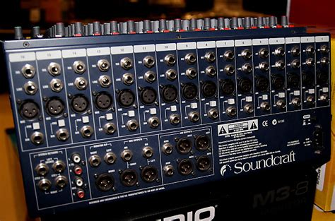 Soundcraft Rack Mount Mixer by Soundcraft Gb2r 16 Mixer 16 Channel Rack Mountable Audio